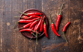 Picture Red, Board, Vegetables, Pepper, Food, Chile, Products, Sharp