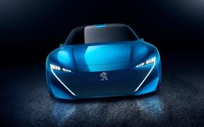 Picture car, Peugeot, lion, concept car, Peugeot Instinct Concept Car, Peugeot Instinct
