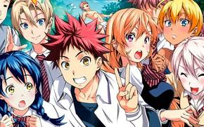 Picture anime, manga, japanese, Shokugeki no Souma