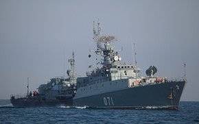 Picture the black sea, Albatross, suzdalets, IPC, project 1124m