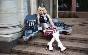 Picture girl, photo, creative, model, outfit, Cosplay, World of Warships