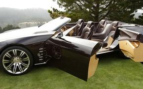 Picture Cadillac, convertible, ciel