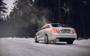 Picture car, machine, auto, city, fog, race, car, mercedes, sports car, car, need for speed, Mercedes, …