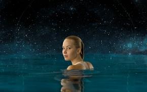 Picture Passengers, Jennifer Lawrence, Jennifer Lawrence, 2016, Passengers, Nothing is accidental