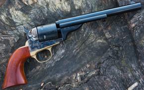 Picture trunk, revolver, colt