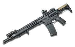Picture design, carabiner, assault rifle