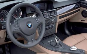 Picture BMW, the wheel, salon