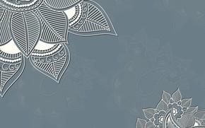Picture flowers, background, pattern, texture, ornament, decoration
