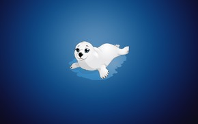 Picture Minimalism, Figure, Background, Seal
