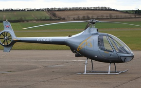 Picture light helicopter, Guimbal, Cabri G2