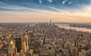Picture the city, New York, USA, New York