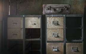 Picture background, suitcase, wardrobe