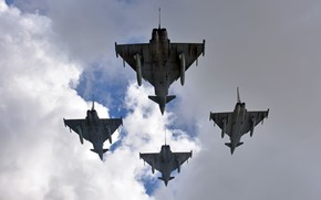 Picture weapons, aircraft, Eurofighter Typhoon