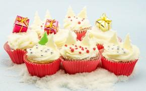 Picture sweets, cream, dessert, sweet, cupcake