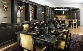 Picture table, furniture, interior, kitchen, decor, serving