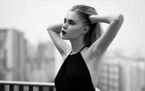 Picture face, model, profile, cutie, Valeria