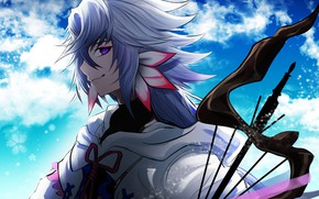 Picture anime, art, character, Merlin, Fate Grand Order