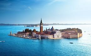 Picture Italy, Venice, Sea, Island, San Giorgio Maggiore