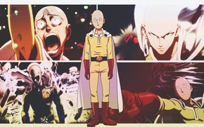 Picture anime, One-Punch Man, Saitama
