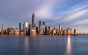 Picture skyscraper, home, New York, USA