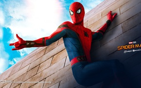 Picture Marvel Comics, Peter Parker, Movie, Tom Holland, Spider-Man: Homecoming, Spider-man: the Return Home