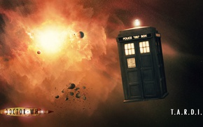 Picture space, booth, Doctor Who, Doctor Who, The TARDIS, TARDIS