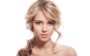 Wallpaper blonde, look, sexy
