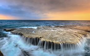 Picture sea, landscape, stone, Nature