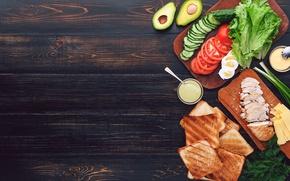 Picture greens, chicken, cheese, bread, meat, vegetables, sauce, sandwich, eggs, toast, avocado, sandwiches, tomato, sandwich, chicken, …