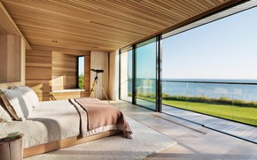 Picture room, interior, bedroom, Peconic House And Barn