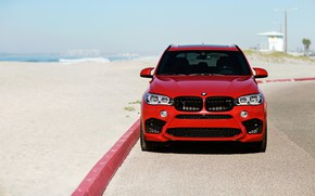 Picture BMW, Front, RED, X5M, LED, F85