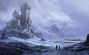 Picture Frost, locks, fortress, Paul Hordyniak