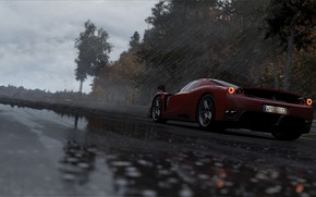 Picture rain, track, race, Slightly Mad Studios, Project CARS 2
