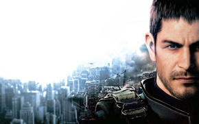 Picture game, Resident Evil, man, Chris Redfield, BSAA, B.S.A.A., Resident Evil Vendetta, Biohazard Vendetta, by feareffectinferno