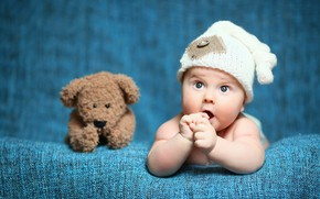 Picture look, child, bear, Baby, bear, baby, teddy, Cute