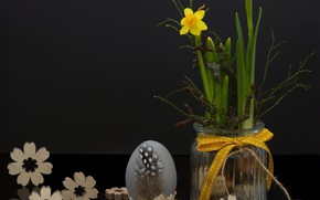 Picture Flowers, Spring, Easter, Eggs, Holiday