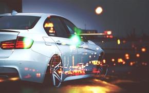 Picture bubbles, Macro, The city, BMW, VOSSEN