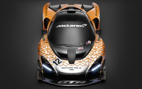 Picture Concept, McLaren, GTR, racing car, front view, 2018, Senna