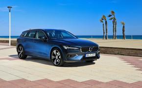 Picture Volvo, 2018, universal, V60, Inscription