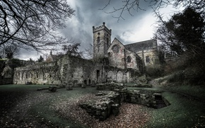Picture Scotland, United Kingdom, Culross Abbey, High Valleyfield