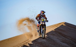 Picture Sand, Motorcycle, KTM, Rally, Dakar, Dakar, Rally, Motorcycles, Dune, 16