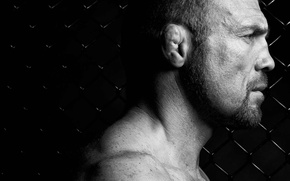 Wallpaper actor, background black, Randy Couture, Randy Couture, UFC, athlete, mesh, MMA