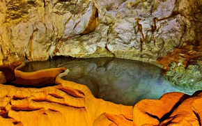 Picture Greece, Peloponnese, Achaia, Cave Of The Lakes, Kalavryta