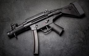Wallpaper machine, The gun, HK MP5K
