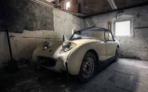 Picture machine, background, garage