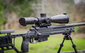 Picture sniper rifle, company, production of the Finnish weapons, Sako TRG
