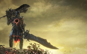 Wallpaper Dark Souls III, The Ringed City, Dark Souls 3