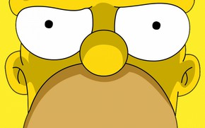 Picture The simpsons, Figure, Homer, Eyes, Simpsons, Art, Cartoon, The Simpsons, Homer Simpson, Homer Simpson, Homer, ...