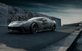 Picture Road, Wheel, Wall, Shadow, Ferrari, Lights, Car, Drives, Berlinetta, F12, Icon