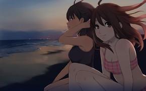 Picture kawaii, beach, anime, manga, oppai, bishojo, japonese, deuce k